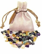 Balanced & Centered Power Pouch Healing Crystals Stone Tumbled Natural Gemstone