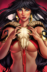 Vampirella 3 Jen Broomall Virgin Variant Port City Comics Exclusive