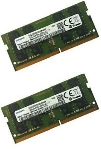 Samsung 64GB (2 x 32GB) DDR4 PC4-21300 2666MHZ 260 PIN SODIMM CL19 MEMORY RAM