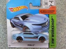 Hot Wheels 2015 #204/250 RYURA LX bleu clair BOÎTIER A