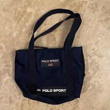 Vintage Ralph Lauren Polo Sport Mini Bag 90s Zip Up