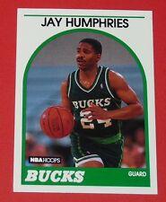 # 298 JAY HUMPHRIES BUCKS MILWAUKEE 1989 NBA HOOPS BASKETBALL CARD