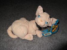 Vintage Austin Powers Mr. Bigglesworth Plush Cat Blockbusters