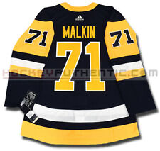 EVGENI MALKIN PITTSBURGH PENGUINS HOME AUTHENTIC PRO ADIDAS NHL JERSEY