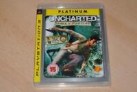 Uncharted Drake's Fortune PS3 Playstation 3 (Platinum) **FREE UK POSTAGE**