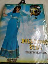 Smiffys fancy dress Ladies BOLLYWOOD STAR COSTUME. size S UK 8-10