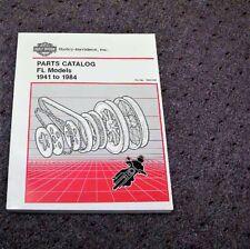 1959-1962 Harley Davidson FL FLH Duo Electra Glide Part Catalog Manual 1960 1961