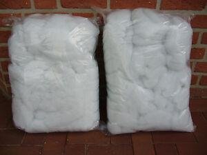 2 Kg  feinste weiße  Filterwatte  für Poolfilter und Teichfilter