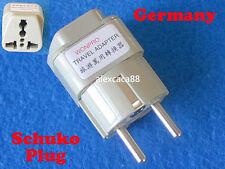 USA UK AUS Euro to Germany South Korea Universal Travel Adapter AC Power Plug