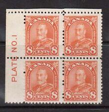 Canada #172 NH Mint Plate #1 UL Block