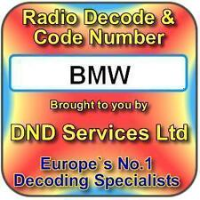 BMW Radio Code Decode Unlock by Serial Number