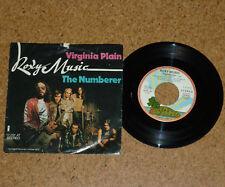 Single Roxy Music Virginia Plain The Numberer Island Bryan Ferry