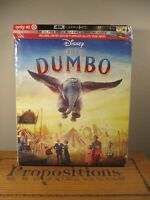 NEW! Target Exclusive Disney Dumbo Live Action 4k UltraHD + Blu-Ray + Digital Co