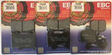 Aprilia SL1000 Falco (2000 to 2004) EBC Organic FRONT and REAR Disc Brake Pads
