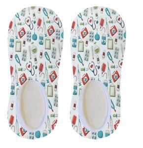 Nurse design no show Socks Nurse Gift - Nurse Appreciation Gift - Sublimation