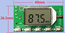 DSP PLL 87-108MHz Digital Wireless Microphone Stereo FM Transmitter Module Board