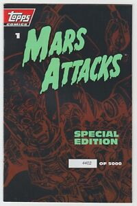 Mars Attacks Special Edition (1994) #1 - Limited to 5000 - Topps