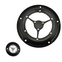 Clarity Derby Cover Timing Timer Cover Fit For Touring 2016-2019 All Black