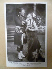Theatre Actors Postcard: GAY GORDONS- SHALL I RISK IT: S Hicks & S Fairbrother