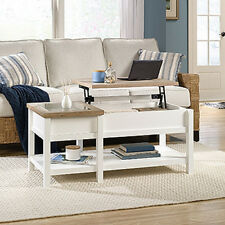 Sauder Cottage Road Living Room Lift-Top Coffee Table - Hidden Storage + Drawer