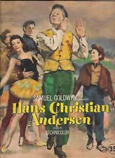 1952-SOUVENIR BOOK-MOVIE-HANS CHRISTIAN ANDERSON