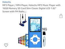 Hotechs MP3/MP4 Player (blue)