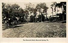 Florida, FL, Altamonte Springs, Altamonte Hotel Real Photo Postcard