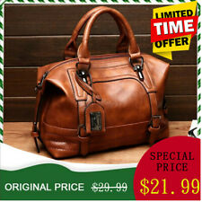 Women Leather Handbag Tote Purse Large Messenger CrossBody Shoulder Bag