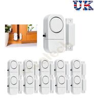 8 WIRELESS LOUD BURGLAR INTRUDER DOOR WINDOW HOUSE SECURITY SAFETY ALARM SENSOR
