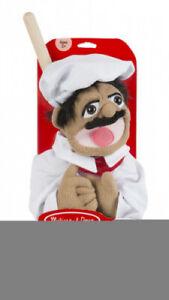 (Chef Puppet) - Melissa & Doug Chef Puppet with Detachable Wooden Rod for
