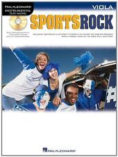 """INSTRUMENTAL PLAY-ALONG-FOR VIOLA """"SPORTS ROCK"""" MUSIC BOOK/CD-BRAND NEW ON SALE!"""