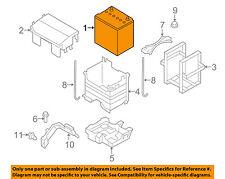 MAZDA OEM 06-15 MX-5 Miata 2.0L-L4-Battery 000080051RWB