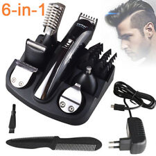 6in1 Professional Mens Electric Hair Trimmer Shaver Cutter Clipper Beard Groomer