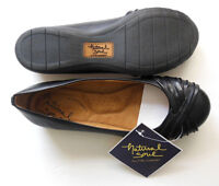 Natural Soul by NATURALIZER Womens Slip-ons Girly Black Loafers M/W Width NEW