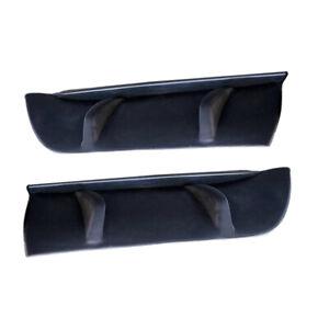 2pc Car Rear Bumper Lip Diffuser Splitter Cover fit for Toyota Camry 2018-2020