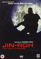 JIN-ROH THE WOLF BRIGADE DVD UK Release New Sealed R2