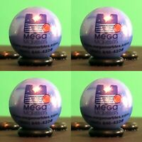 "4 Shooter Marbles 1"" Logo Mega / Vacor Shooter Marbles"