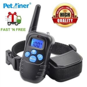 Petrainer Small Large Dog Training Shock Collar With Wireless Remote Waterproof