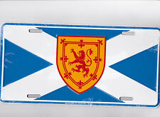 Scotland St Andrews Cross  metal license plate for fan of the Irish Pub Bar