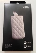 NEW IN BOX Sena Colcha White Genuine Leather for iPhone 4 / 4S Pouch $40