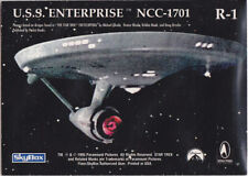 STAR TREK 30 YEARS PHASE 1 GOLD REGISTRY PLAQUE R1 USS ENTERPRISE NCC-1701