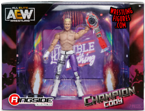 AEW Champion Cody Rhodes TNT Champion Ringside Exclusive Figure *PRE-ORDER June