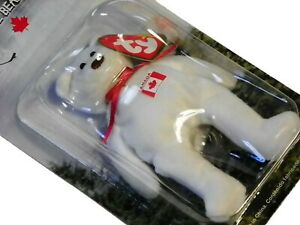 Maple Bear McDonalds TY Beanie Baby With Errors 1997 Retired International Bear