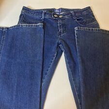 Lilu Flare Leg Stretch Blue Denim Jeans Size 5