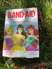Children's Band Aids Disney Princess Bandages 20 In Box 3 Pictures Kids New