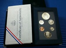1990 United States Mint Prestige Proof Set with Eisenhower $1 Silver Proof Coin