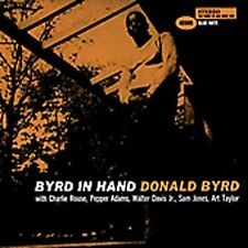 Byrd in Hand By Donald Byrd  , Music CD