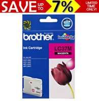 New GENUINE Brother LC37M Magenta Ink Cartridge DCP-135C DCP-150C MFC-235C