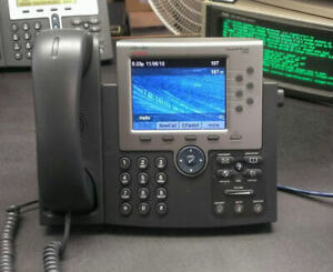 Cisco CP-7965G 7965 Unified IP Phone, Color 5-Inch TFT Display, VoIP -USED