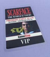 Scarface The World Is Yours Video Game Premiere Party VIP Pass 2006